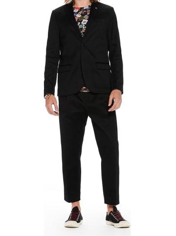 Scotch & Soda Spodnie chino - Regular fit - w kolorze czarnym