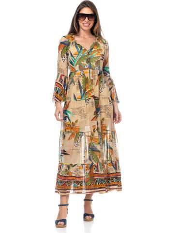 Peace & Love Kleid in Bunt