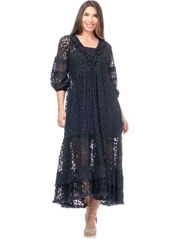 Peace & Love Sukienka w kolorze czarnym