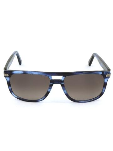 Ermenegildo Zegna Herenzonnebril blauw/bruin