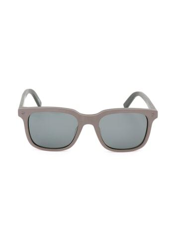 Ermenegildo Zegna Herenzonnebril lichtbruin-olijfgroen/grijs