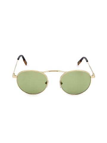 Ermenegildo Zegna Herenzonnebril goudkleurig/groen