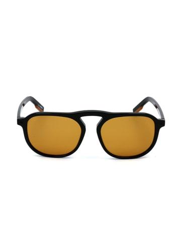 Ermenegildo Zegna Herenzonnebril zwart/lichtbruin