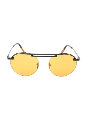 Ermenegildo Zegna Herenzonnebril bruin-zwart/geel