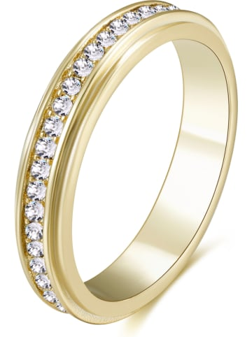 Park Avenue Vergulde ring met Swarovski-kristallen