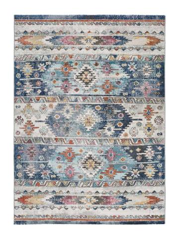 """Atticgo Laagpolig tapijt """"Mirva"""" grijs/blauw/meerkleurig"""