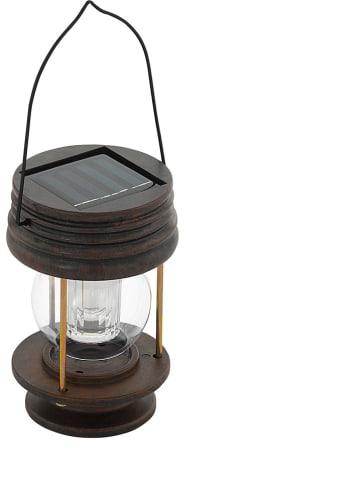 EGLO Solarny lampion LED w kolorze brązowym - wys. 13,5 cm