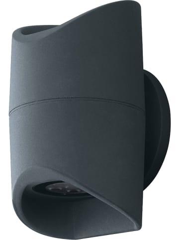 """EGLO Zewnętrzna lampa LED """"Abrantes"""" w kolorze antracytowym - 12 x 20 cm"""