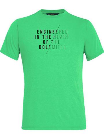 """Salewa Functioneel shirt """"Engineered Dry"""" groen"""
