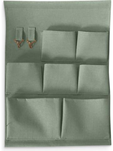 Deco Lorrie Organizer ścienny w kolorze zielonym - 35,5 x 48 cm