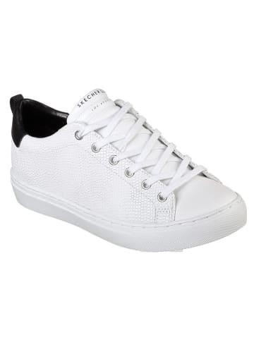 """Skechers Leren sneakers """"Side Street-Tegu"""" wit"""