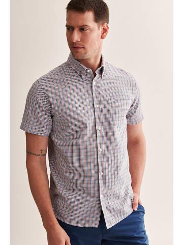 TATUUM Koszula w kolorze niebieskim ze wzorem