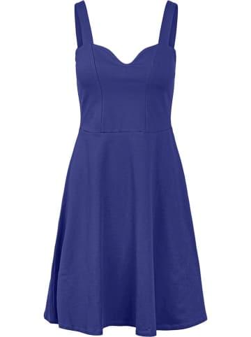 """Pieces Sukienka """"Ang"""" w kolorze niebieskim"""
