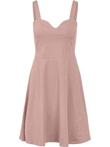 """Pieces Sukienka """"Ang"""" w kolorze jasnoróżowym"""
