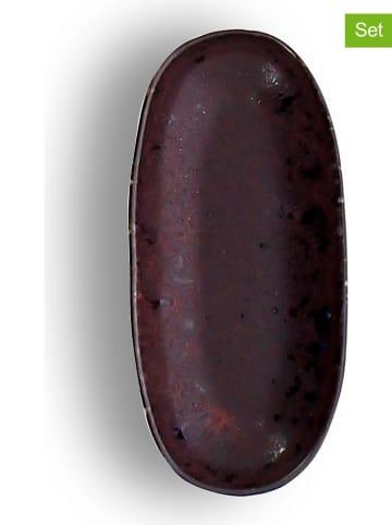 """Ogo Living Półmiski (6 szt.) """"Etna"""" w kolorze fioletowym - 15 x 7 cm"""