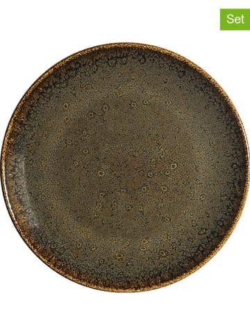 """Ogo Living Talerzyki deserowe (6 szt.) """"Tierra Bonna"""" w kolorze brązowym - Ø 21 cm"""