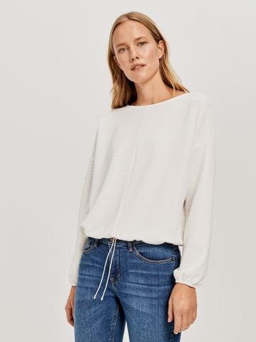 "OPUS Sweatshirt ""Guneti"" wit"