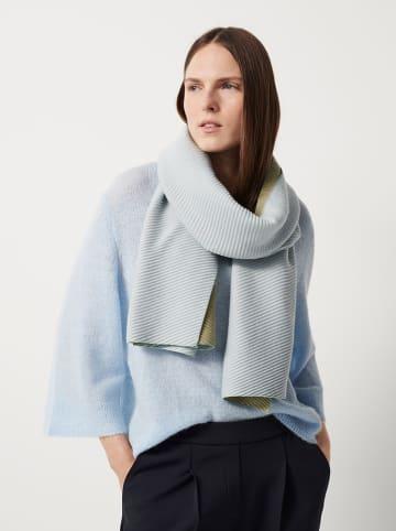 "OPUS Sjaal ""Banni"" lichtblauw - (L)60 x (B)200 cm"