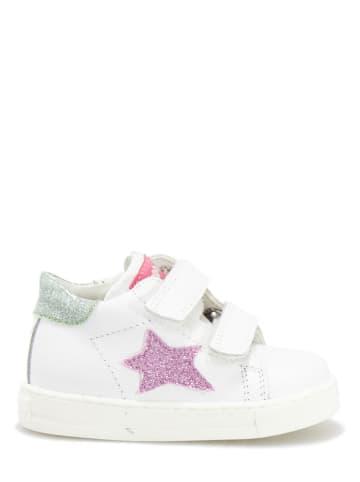Falcotto Sneakersy w kolorze białym