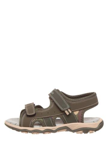 Lumberjack Sandalen kaki/bruin