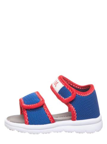Lumberjack Sandalen blauw/rood