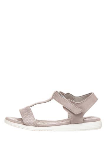 Xti Sandały w kolorze szarobrązowym