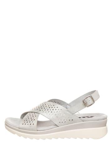 Xti Sandały w kolorze srebrnym