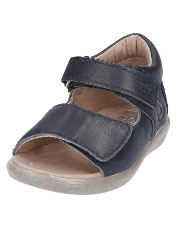"PEPINO Leren sandalen ""Taya"" donkerblauw"