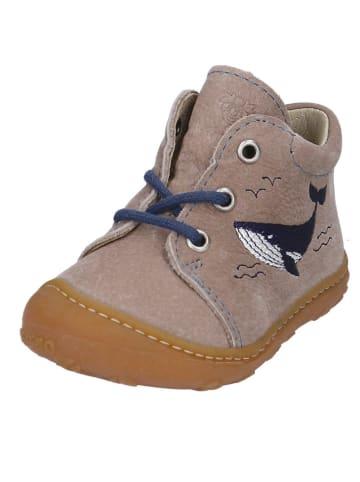 """PEPINO Leren sneakers """"Lucky"""" grijs"""