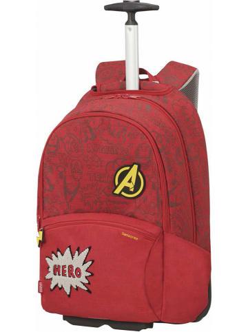 """Samsonite Plecak """"Avengers doodle"""" w kolorze czerwonym - 33 x 51 x 19 cm"""