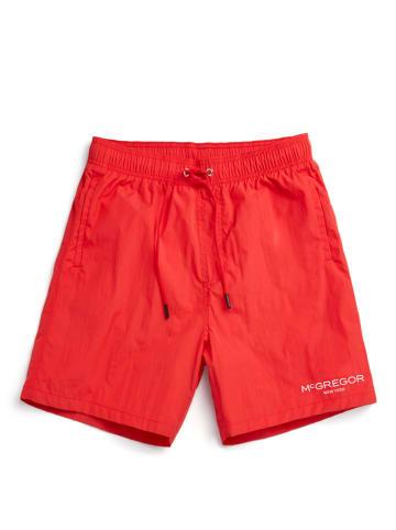McGregor Szorty kąpielowe w kolorze czerwonym