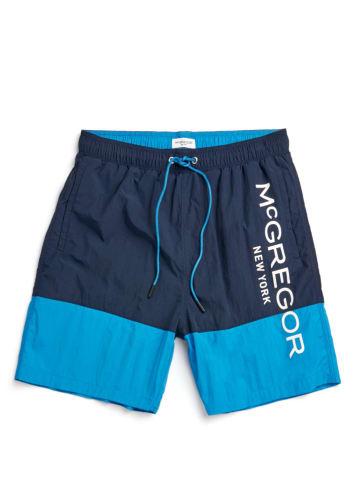McGregor Zwemshort donkerblauw/lichtblauw