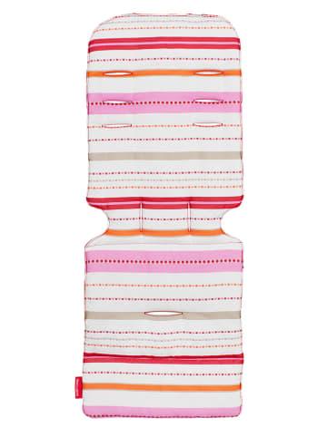 """MACLAREN Universal-Sitzeinlage """"Marseilles Stripe"""" in Pink/ Weiß"""