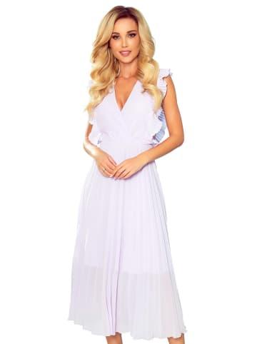 Numoco Sukienka w kolorze fioletowym