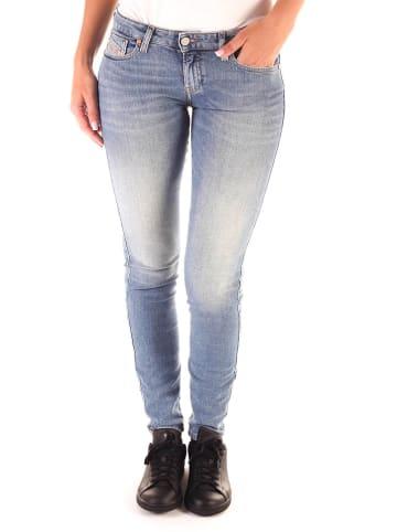 """Diesel Clothes Dżinsy """"Gracey"""" - Super Slim Skinny fit - w kolorze błękitnym"""