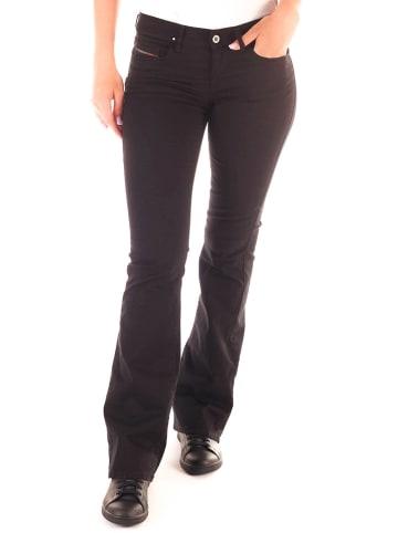 """Diesel Clothes Jeans """"Lowleeh"""" - Slim Bootcut - in Schwarz"""