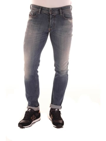 "Diesel Clothes Jeans ""Sleenker"" - Regular Straight fit - in Dunkelblau"