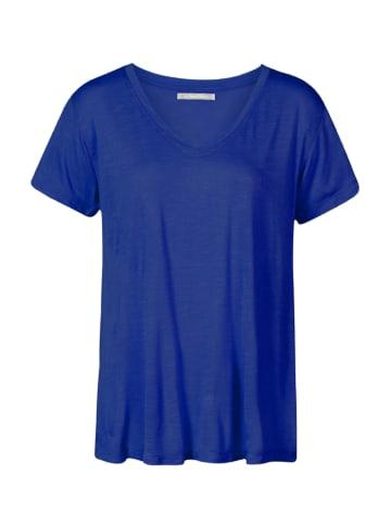 """HIMALAYA Shirt """"Tee"""" blauw"""