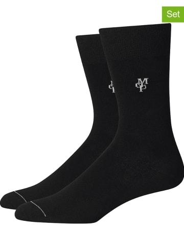 Marc O´Polo Legwear 4er-Set: Socken in Schwarz