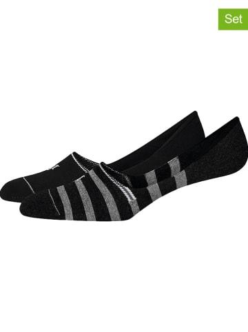 Marc O´Polo Legwear 4-delige set: voetjes zwart