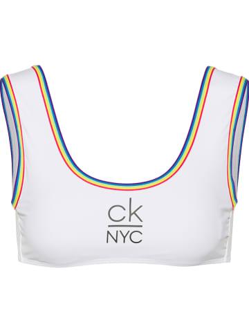 CALVIN KLEIN UNDERWEAR Bikini-Oberteil in Weiß