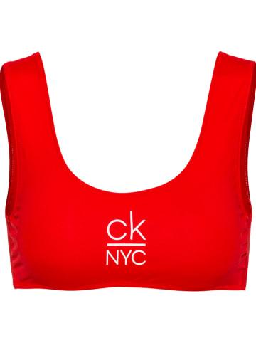 CALVIN KLEIN UNDERWEAR Bikini-Oberteil in Rot