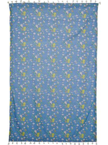 Maui Wowie Ręcznik plażowy w kolorze niebieskim ze wzorem - 150 x 100 cm