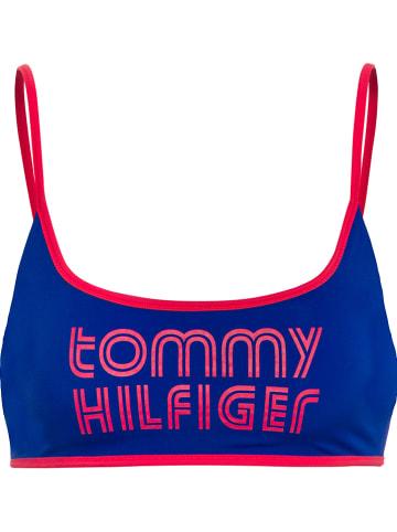 Tommy Hilfiger Underwear Biustonosz bikini w kolorze niebieskim