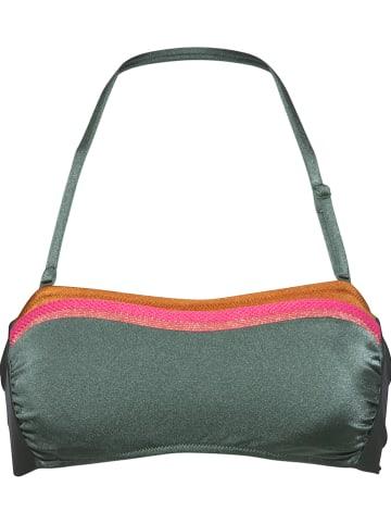 Watercult Bikinitop groen/meerkleurig