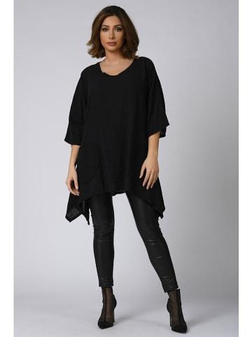 """Plus Size Company Tunika """"Alma"""" w kolorze czarnym"""
