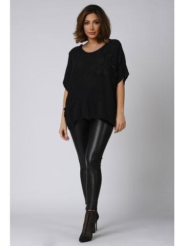"""Plus Size Company Koszulka """"Jana"""" w kolorze czarnym"""