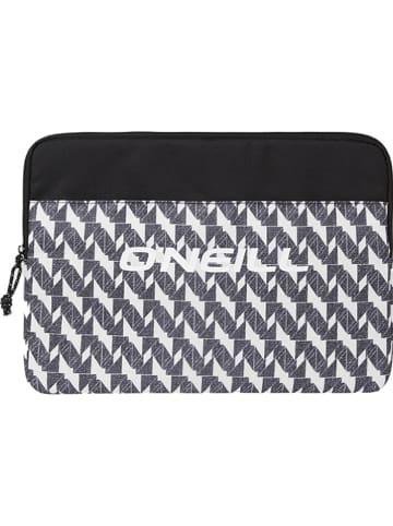 """O'Neill Laptoptasche """"Laptop Case"""" in Schwarz/ Weiß - (B)39 x (H)27 x (T)2,8 cm"""