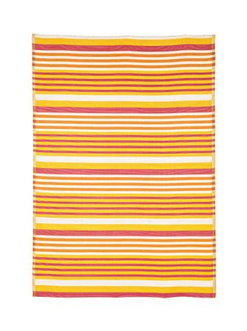 Bizzotto Dywan zewnętrzny w kolorze żółtym ze wzorem