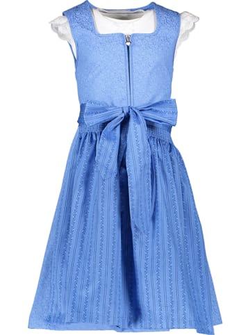 """Turi Landhaus Dirndl """"Rosemarie"""" in Blau"""